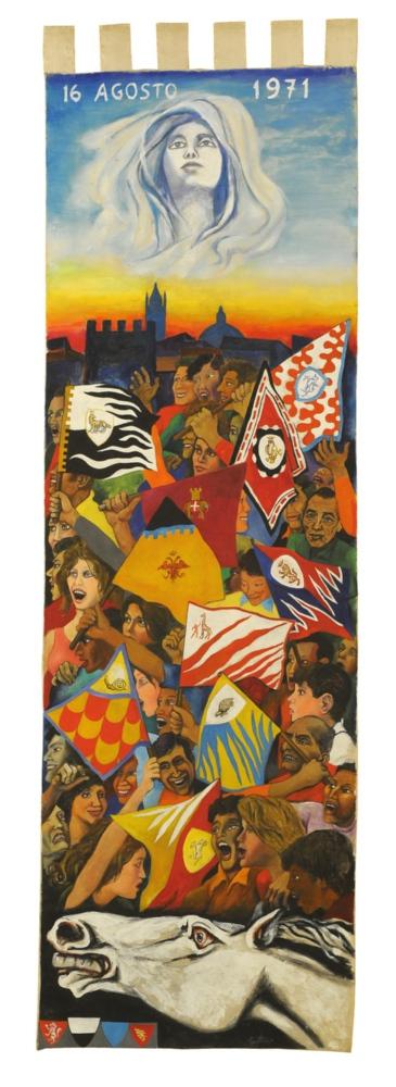 L'Arte del Palio: Il Drappellone del 16 agosto 1971
