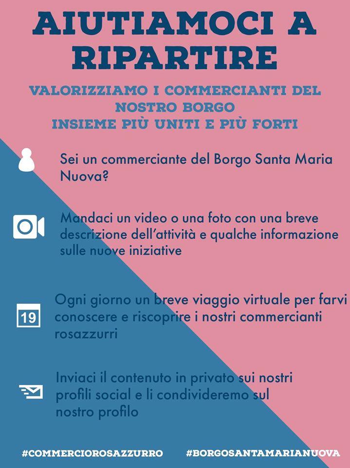 Asti: il Borgo Santa Maria Nuova sostiene i commercianti del borgo