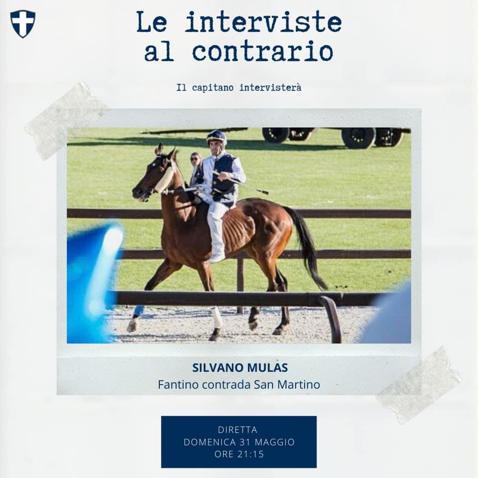 Contrada San Martino: questa sera intervista con Silvano Mulas