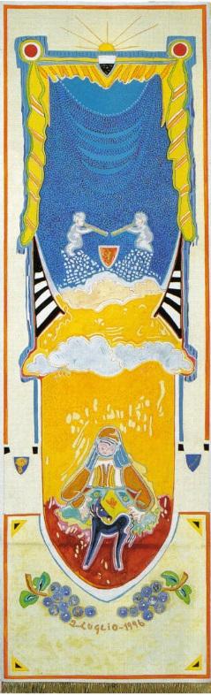 L'Arte del Palio: il Drappellone del 2 luglio 1996