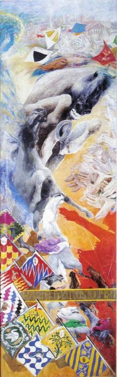 L'Arte del Palio: il Drappellone del 16 agosto 1987