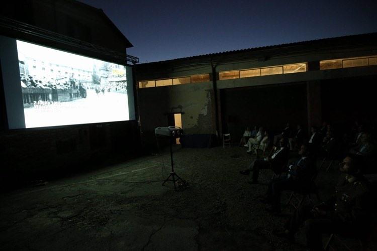 Il 29 giugno nel Nicchio è stato proiettato il documentario su Vittorino