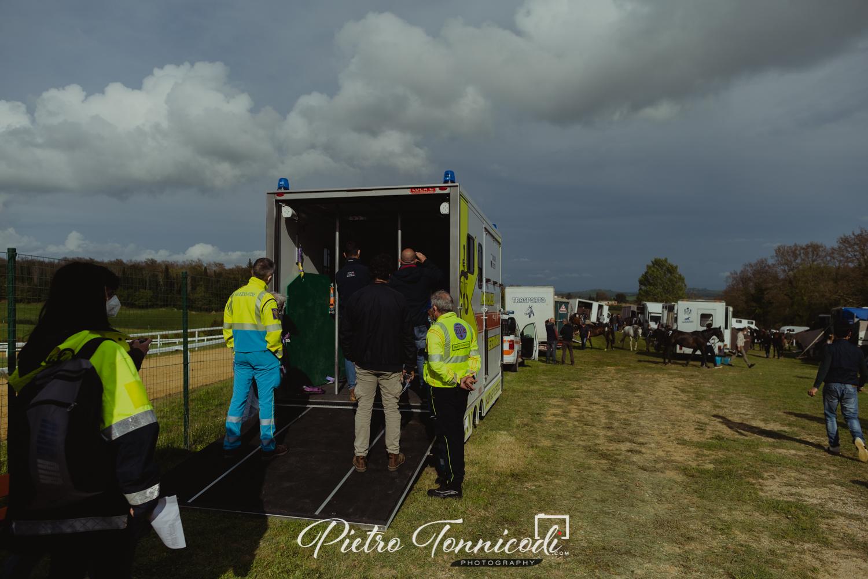 Ieri la Commissione Veterinaria ha visto la nuova ambulanza per i cavalli