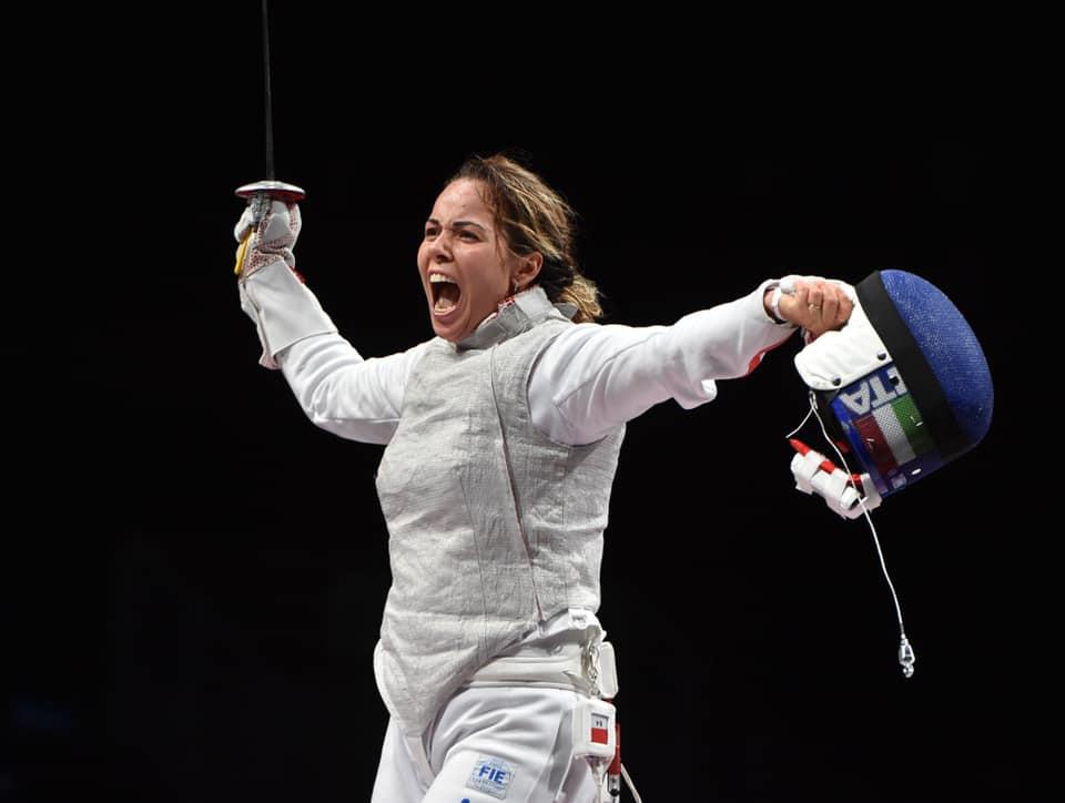 La chiocciolina Alice Volpi medaglia di bronzo nel fioretto a squadre