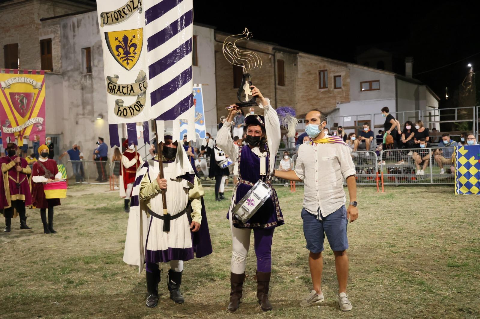 Fermo: Fiorenza ha vinto il Gallo d'Oro